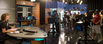 Cronkite NewsWatch studio